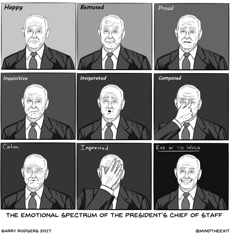 many faces of John Kelly1