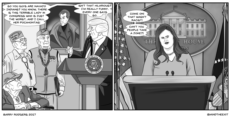 Trump pocahontas1